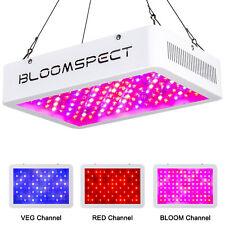 BLOOMSPECT 1000W LED Grow Light Full Spectrum VEG RED BLOOM 3 Modes &Daisy Chain