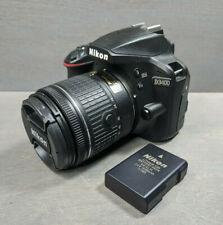 Nikon D D3400 24.2MP DSLR Camera -(Kit w/ AF VR DX 18-55mm Lens - 105 Clicks!