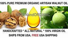 PREMIUM Organic WALNUT OIL Cold Pressed 100% Pure NATURAL Fresh Juglans regia