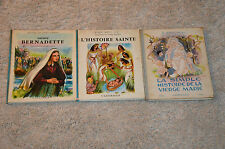 lot 3 livres anciens de Robert Bastin / Casterman - Yvonne Englebert - religion