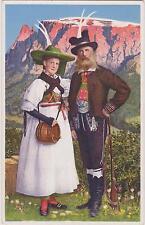 Cartolina - Alto Adige - Dolomiti - Costumi del Renon Bolzano - Ritten (25)
