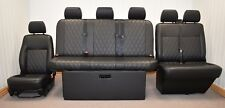 STREAMLINE FULL WIDTH M1 ROCK N ROLL BED + VW T5 FRONT SEAT UPHOLSTERY (407D+DD)
