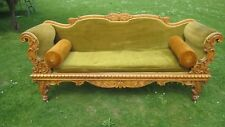 Victorian Bird's Eye Maple Sofa