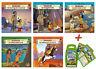 Yakari Mini-Bücher 5er Set + Top Trumps Yakari Kartenspiel Quartettspiel Spiel