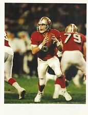Steve Young San Francisco 49ers QB Action Shot Picture 8x10 photo  #5