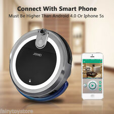 JISIWEI I3 Smart Robot Vacuum Cleaner Digital Automatic Robotic Cleaning Mop US