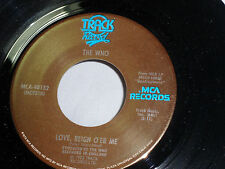 The Who: Love, Reign O'er Me / Water   [Unplayed Copy]
