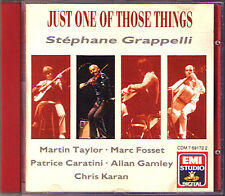Stéphane GRAPPELLI: JUST ONE OF THOSE THINGS Stephane Marc Fosset Cheek to Cheek