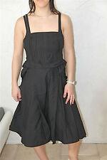 dress robe bustier noire M& FRANCOIS GIRBAUD taille 40  NEUVE ÉTIQUETTE val 450€