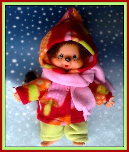 Kleidung Zipfeljacke,Hose und Schal passend für Kiki Äffchen 20 cm Neu