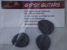 Dunlop 304  Primetone  Picks 3.00mm ROUND TIP Gypsy Jazz Django 3 Pack Acoustic