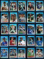 1987 Fleer Update Baseball Cards Complete Your Set You Pick From List U-1 U-132