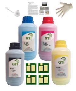 Refill Kit for HP 657X Toner Cartridges, CF470X CF471X CF472X CF473X, M681 M682