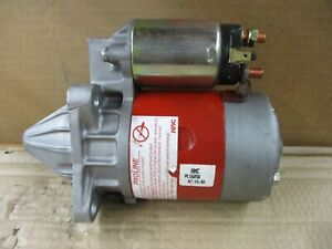 REMANUFACTURED STARTER 16858 FITS VEHICLES ON CHART *NO CORE CHARGE*
