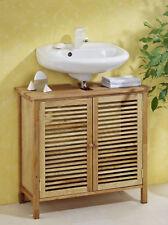 Waschbeckenunterschrank, Badezimmerschrank oder Sauna, aus Walnussholz