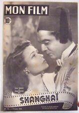 Revue Mon Film n° 112 Shangaï Gene Tierney Victor Mature 1948