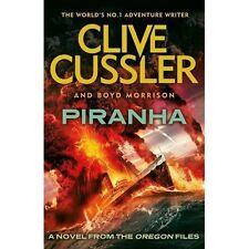 NEW Piranha: Oregon Files #10 (The Oregon Files), Cussler, Clive Hardcover