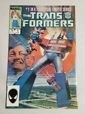 Transformers 1 1984 1st Print Solid Copy