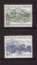 Czechoslovakia MNH 1964 Trade Union Recreation Hotels set mint stamps