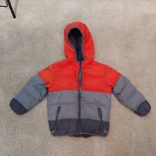 Youth Toddler Snozu winter jacket orange/grey