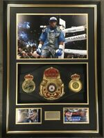 Floyd Mayweather Signed Framed FULL SIZE Boxing Belt Autograph Signed TMT