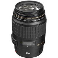 Canon EF 100mm f/2.8 USM Macro Autofocus Lens NEW