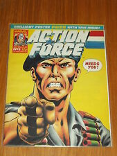 ACTION FORCE #3 21ST MARCH 1987 MARVEL BRITISH WEEKLY WITH FREE POSTER