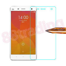 FRONT TEMPERED GLASS SCREEN PROTECTOR + BACK FILM COVER FOR XIAOMI MI4 MI 4