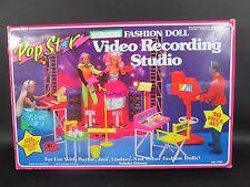 1985 Arco POP STAR Barbie Jem Fashion Doll VIDEO RECORDING STUDIO #7790