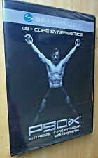 P90X Core Synergistics Motivational Focused Fitness 8 Dvd Single Release Sealed