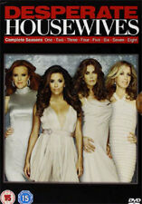 DESPERATE HOUSEWIVES SEASONS 1 TO 8 COMPLETE COLLECTION DVD [UK] NEW DVD