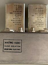 Western Electric Trans GA-50766 RCA/XLR input/output great for CD and Pre