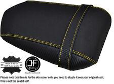 Agarre De Carbono Amarillo Puntada Personalizado Se Ajusta Yamaha 1000 YZF R1 04-06 Cubierta de Asiento Trasero