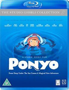 Ponyo [Blu-ray + DVD Combi Pack] [DVD][Region 2]