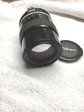 Nikon Nikkor 135mm f/3.5 Ai Manual Focus Lens ...Clean!