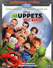 Disney Muppets Most Wanted Blu-Ray+DVD (2-Disc Set) ***NO DIGITAL COPY***Disney