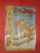 GLI ALBO D'ORO DI TOPOLINO-n° 35 -annata del 1954-originale mondadori- disney