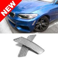 2014+ BMW F22/F23 2-SERIES 2DR FRONT BUMPER REFLECTORS - CRYSTAL CLEAR