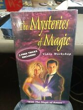 Mysteries of Magic 2 Free Tricks Enclosed Vhs Video Tape