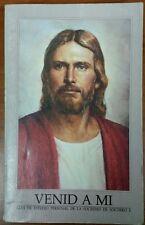 Venid a Mi Guia de Estudio Personal de la Sociedad del Socorro 1991 Mormon