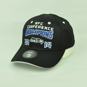 NFL NFC Conference Champions 2014 Youth Curved Bill Adjustable Snapback Hat Cap
