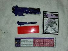 Astrotrain ~ NEAR Complete 1985 Hasbro G1 Transformers Action Figure WITH PAPERS