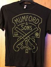 Mumford & Sons.  Shirt.  Black.  M