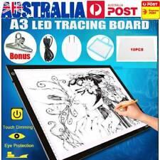A3 LED Light Box Tracing Board Art Design Stencil Drawing Pad Thin Copy Pattern