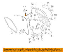 MERCEDES OEM 06-11 ML350 Lift Gate-Weatherstrip Seal 1647401178