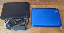 HP Mini 110 Netbook Blue, used in working order, charger & cover included