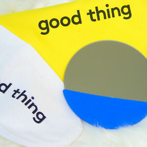 NEW Good Things Purse MIRROR Stainless Steel Blue Silicone Stocking Stuffer Box!