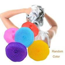 Silicone Scalp Shampoo Brush Washing Massage Bath Shower Head Hair Comb Washer