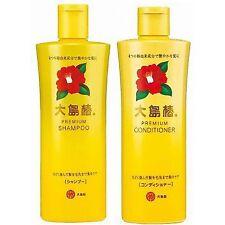 ☀OSHIMA Tsubaki☀ Premium Shampoo & Conditioner with Camellia Seed Oil 300mL
