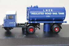 OO Scale Oxford 76MH018 Scammell Mechanical Horse Tanker LNER FNQHobbys OX255